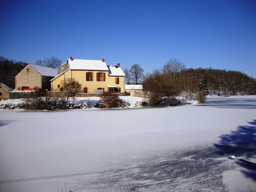 Tresor Etang du cheix en neige2